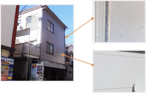 外壁の修繕計画