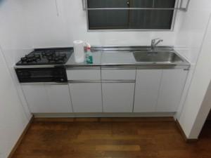 キッチン完工