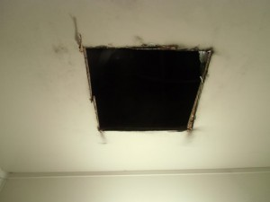 3.天井加工