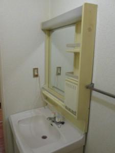 洗面台 施工前2