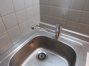 シングル水栓交換後