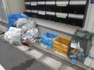 ゴミの回収処理前(2)