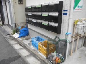 ゴミの回収処理後(2)2