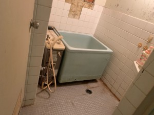 1既設 バランス釜・浴槽