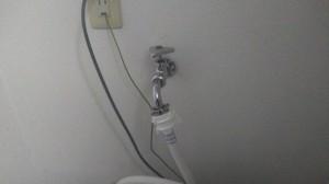 3.完工 洗濯水栓